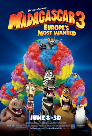 Madagascar 3: Europe's Most Wanted