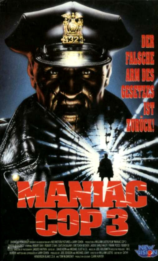 Image Maniac Cop 3 Badge Of Silence