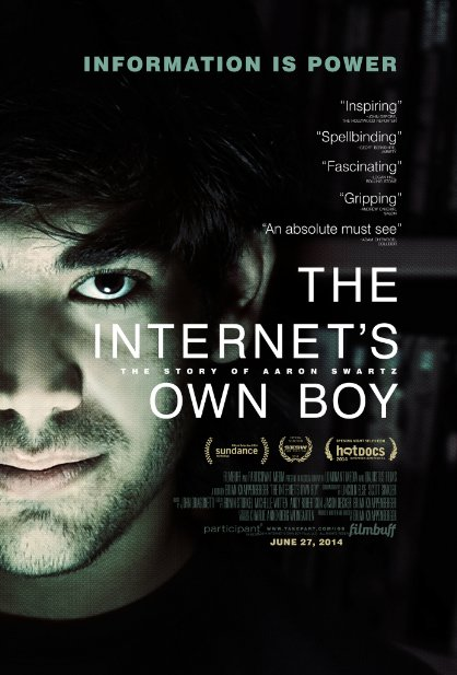 The Internets Own Boy The Story of Aaron Swartz