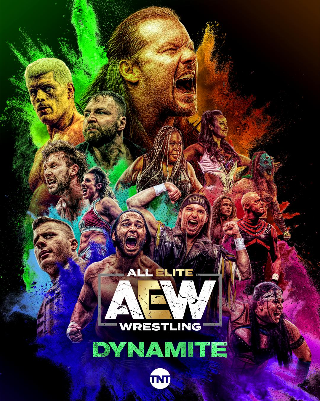 All Elite Wrestling: Dynamite Season 3 Episode 1 - AEW Dynamite 67 - New Year's Smash 2021 Night 1