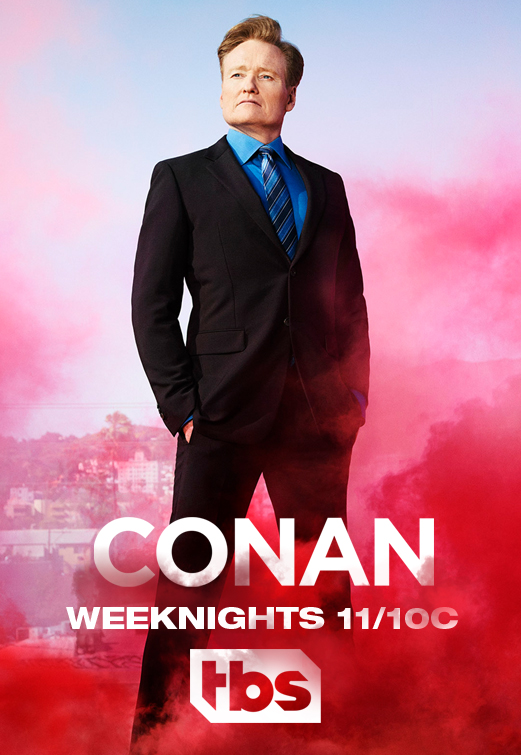 Conan - Season 11 Episode 3 - Max Greenfield