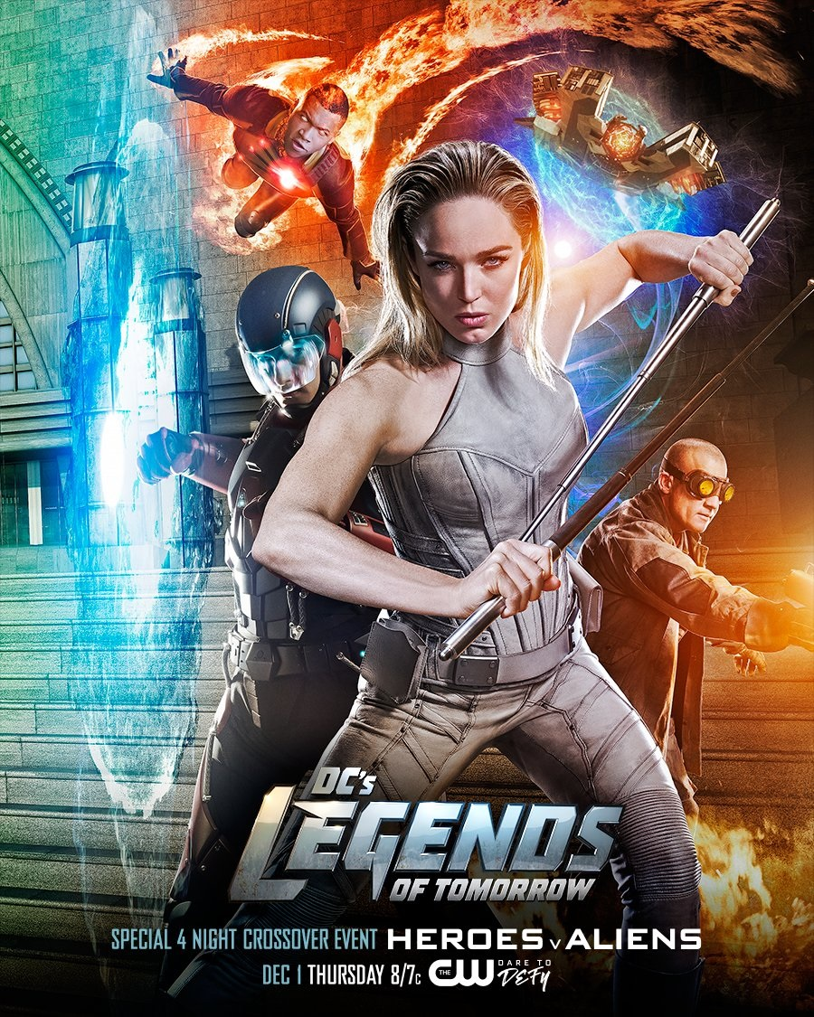 DC's Legends of Tomorrow - Season 4 Episode 12 - The Eggplant, the Witch & the Wardrobe