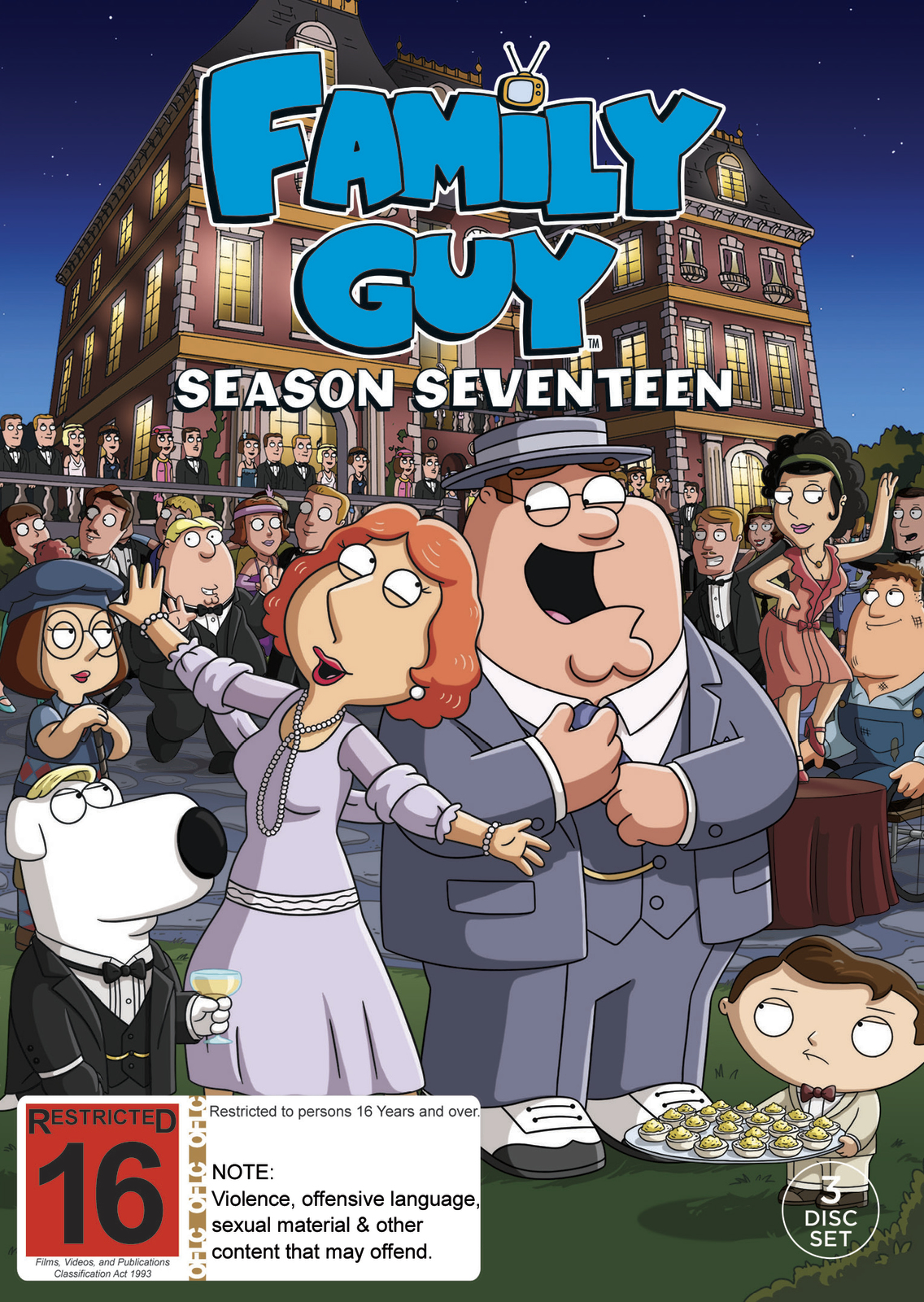 Family Guy - Season 17 Episode 13 - Trans-Fat