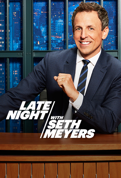 Late Night with Seth Meyers - Season 7 Episode 66 - Edie Falco, Adam Pally, Andrew Zimmern & José Andrés
