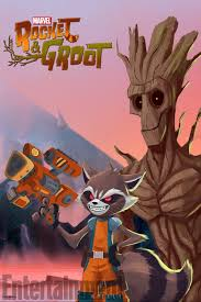 Marvel's Rocket and Groot