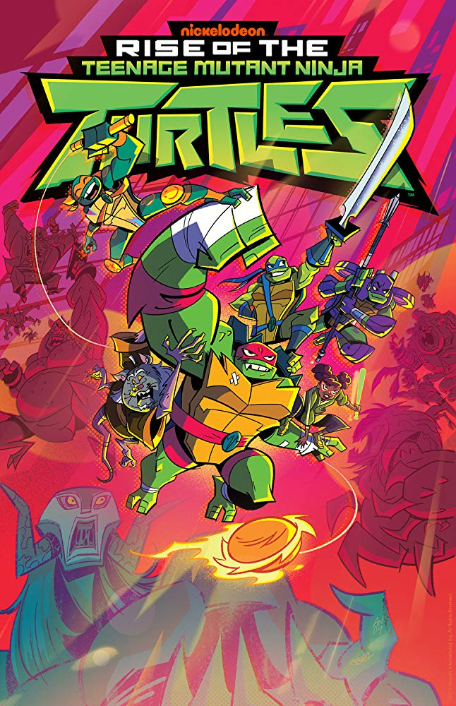 Rise of The Teenage Mutant Ninja Turtles - Season 2