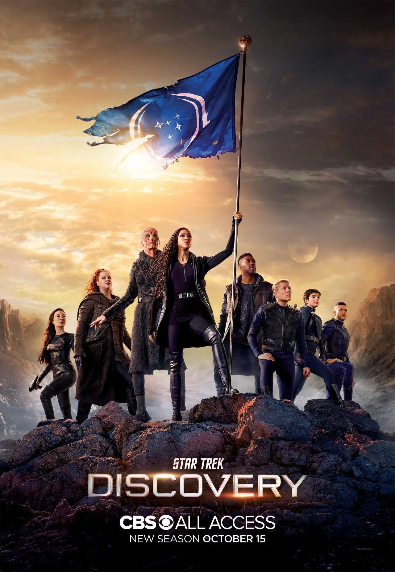 Star Trek: Discovery - Season 3 Episode 3 - People of Earth