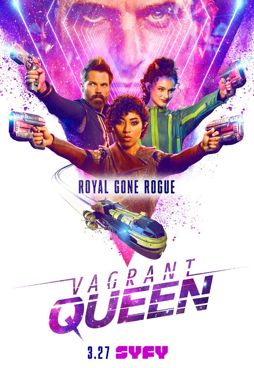 Vagrant Queen - Season 1 Episode 1 - A Royal Ass-Kicking